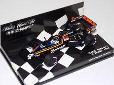 1/43 Minichamps F1 Tyrrell 012 Ford 1984 S.Bellof