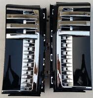 Land Rover Range 2003~2012 Fender Side vent Grille L322 HSE Gloss Black / Silve