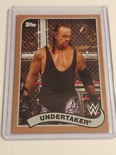 The Undertaker 2018 Topps WWE Heritage bronze parallel Wrestling