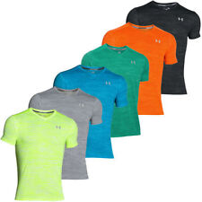 Under armour Polyester V Neck T-Shirts for Men