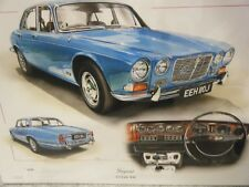 JAGUAR XJ6 CELEBRATION STUNNING LIMITED EDITION PRINT NEW FOR 2018