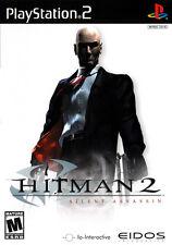 HITMAN 2 Silent Assasin SONY PLAYSTATION 2 PS2
