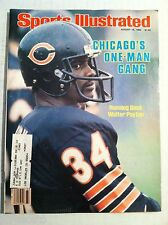 1982 CHICAGO BEARS WALTER PAYTON ONE-MAN GANG Sports Illustrated NICE