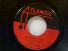 "CLARENCE CARTER ""THE FEELING IS RIGHT / YOU CAN'T MISS WHAT YOU CAN'T.."" 45 MINT"