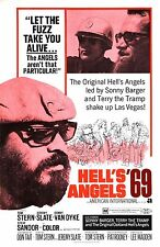 HELLS ANGELS '69 Movie Poster Biker Exploitation