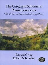 Grieg Schumann Piano Concertos Learn to Play Orchestrial DUET Music Book