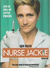 NURSE JACKIE - Season 1. Life Is Full Of Little Pricks! Edie Falco (3xDVD BOX SE