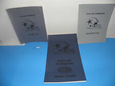 NFL Super Bowl XXX 30 Dallas Cowboys Media Guide & Feature Clips Package