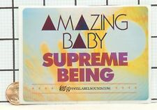 BRAND NEW AMAZING BABY SUPREME BEING RARE PROMO STICKER