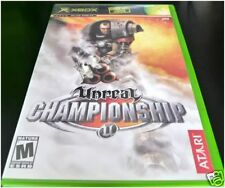 Unreal Championship (Xbox) Mint Original Black Label