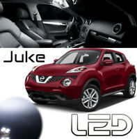 Nissan JUKE 7 Ampoules LED Blanc intérieur plafonnier Habitacle Dome led light