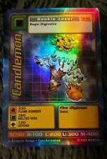 DIGIMON DIGI-BATTLE HOLO FOIL RARE INSERT STARTER CARD - St-41S CANDLEMON NM