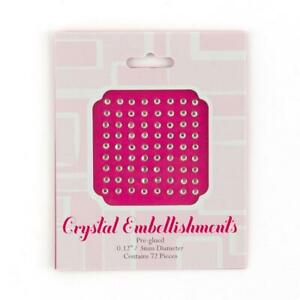 Adhesive Stationery Jewel Embellishments - 2 Sizes