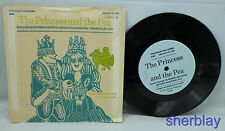Vtg 33 1/3 rpm Record - The Princess & the Pea  Henny Penny -Young Readers Press