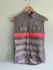 RAPHA RCC Cycling mens grey gilet M medium sold out waterproof vest like new