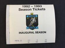 Atlanta Knights 1992-93 Inaugural Season Tickets Unused 39 Ticket Booklet