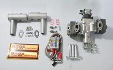 RCGF 50cc Two Stroke Twin Cylinder Gas Engine