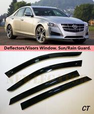 For Cadillac CTS III Sd 2016, Windows Visors Deflector Sun Rain Guard