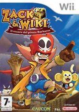 Zack & Wiki Nintendo WII EDIZIONE ITALIANA Nuovo sigillato SEALED