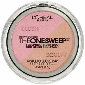 L'Oreal The One Sweep Sculpting Blush Duo - Posh/Mauve