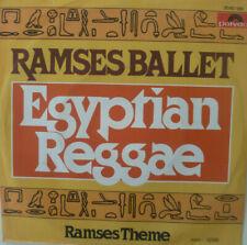 """7"""" 1977 RARE IN MINT- ! RAMSES BALLET : Egyptian Reggae"""