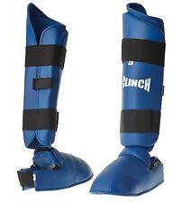 ABVERKAUF: Schienbein-Fußschoner, Karate, Taekwondo, Fuß-Schoner, C-268-B, blau