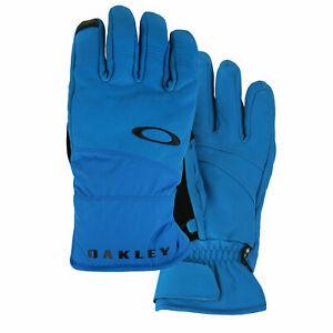 Oakley Snow Gloves Gore-Tex Herren-Handschuhe Winter Skihandschuhe Schnee Blau