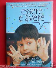 dvd film essere e avere nicolas philibert festival di cannes etre et avoir movie