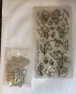 Unbranded Fairy Stamp & Die Set