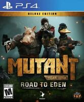 Mutant Year Zero: Road to Eden Deluxe Edition for PlayStation 4 [New Video Game]
