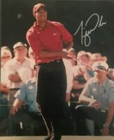 TIGER WOODS SIGNED 8X10 Photo reprint GOLF MASTERS NIKE!!!!!!