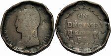 La France première république 1 decime l 'an 6-9 BB Strasbourg 1797-1801 Ernst 17-20
