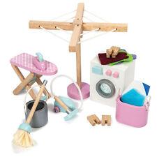 """Le Toy Van ME038 Waschraum """"Laundry Room Set"""" 1:12 für Puppenhaus Holz NEU! #"""