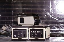 Vintage Sony Dxc-1600p Video Camera with Ccu adapters