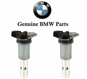 For BMW 325i 325xi 330i 330xi Set of 2 Solenoids With Gaskets For Vanos Genuine