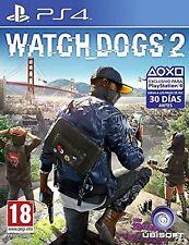 PS4 Watch Dogs 2 Nuevo Precintado Pal España