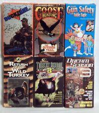 Vhs lot Dream Season 3 Return Wild Turkey School Goose Duck Hunting Pitchin In