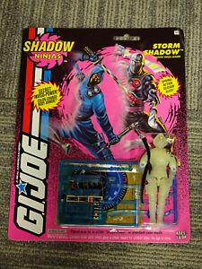 Hasbro 1993 G.I. Joe Shadow Ninjas Storm Shadow Action Figure MOC