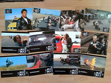 Mel Gibson MAD MAX I - rare set of 12 German lobby cards 1979 George Miller