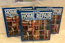 LOT OF 3 EASY HOME REPAIR. A COMPLETE STEP-BY-STEP GUIDE TO DO-IT-YOURSELF. USED