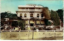 Circa 1940 Real Photo Hand-Colored RPPC Hotel Splendid PORT au PRINCE HAITI