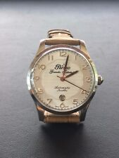 Perseo Watch Vintage White Dial Automatic Nos