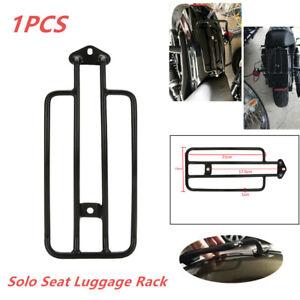 Motor Solo Metal Seat Fender Luggage Rack Fit for  Yamaha Suzuki Kawasaki