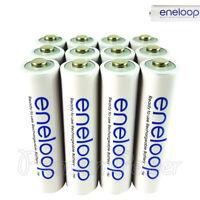 12 x Panasonic Eneloop AAA batteries 750mAh Rechargeable Accu Ni-MH HR03 Phones