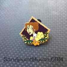 Disney Jane Tarzan vintage diamond Pin (UX:3408)