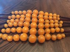 New, Amber, Moroccan Berber Amber Beaded Necklace.