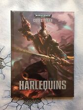 WARHAMMER 40,000 HARLEQUINS CODEX BOOK 40K, NEW, Hardback