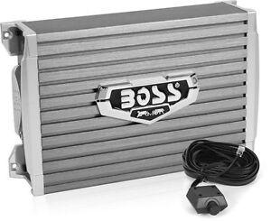 Boss Audio 1500 Watts RMS Mono A/B MOSFET Power Car Amplifier + Remote | AR1500M