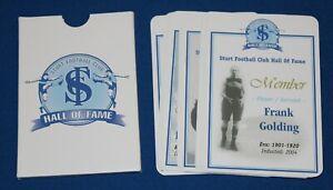 2004 Sturt Football Club Hall of Fame Original Inductees Full 19 Card Set SANFL