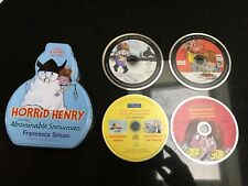 Horrid Henry & the Abominable Snowman Audio 3 CD collection in TIN + BONUS CD 4